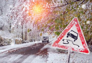 Tipps für's Autofahren im Winter.